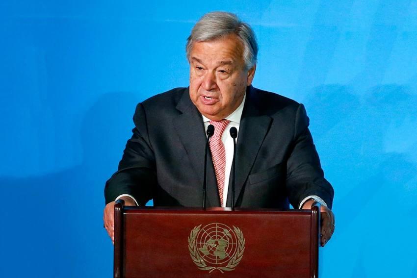 UN Chief Antonio Guterres Warns Of Rising  'Vaccine Nationalism'