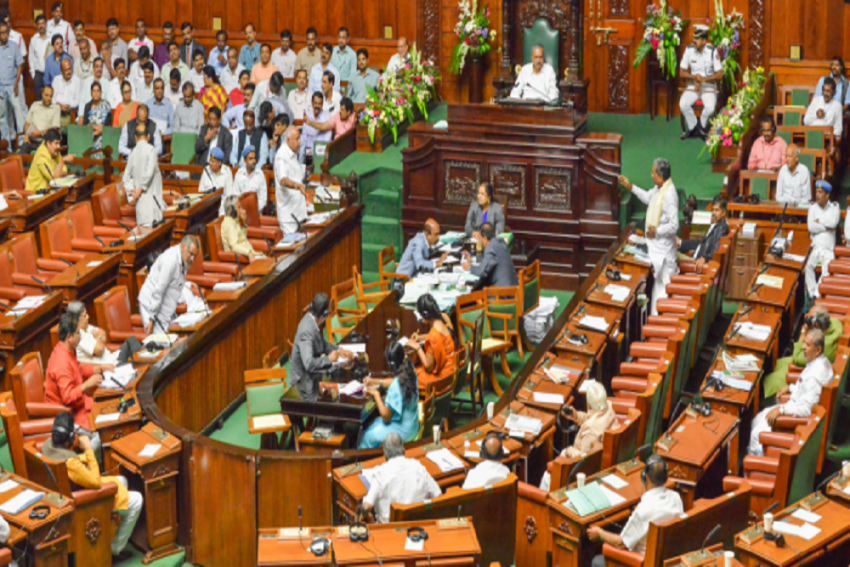 Karnataka: Congress Boycotts Assembly To Protest Anti-Cow Slaughter Bill