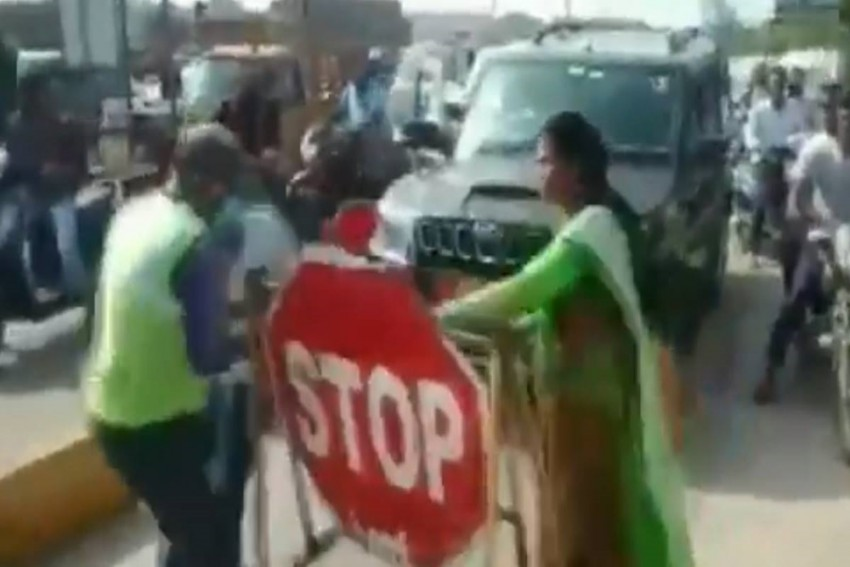 Watch: Jagan Reddy's Party Leader Slaps Toll Booth Worker When Asked To Pay Tax