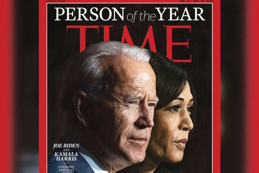 Joe Biden, Kamala Harris Named TIME Magazine's '2020 Person of the Year'