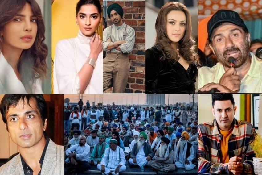 From Dharmendra, Diljit To Priyanka, Celebrities Who Stood Up For Farmers'