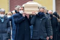 Thousands Line Streets For Italy Legend Paolo Rossi's Funeral In Vicenza