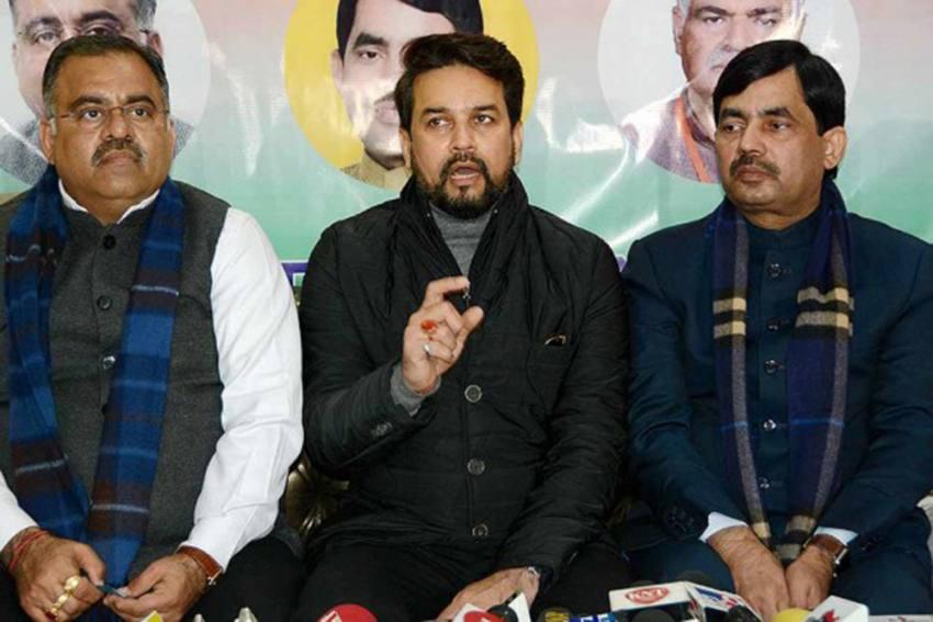PDP-NC Leadership Exploited Jammu And Kashmir: Union Minister Anurag Singh Thakur