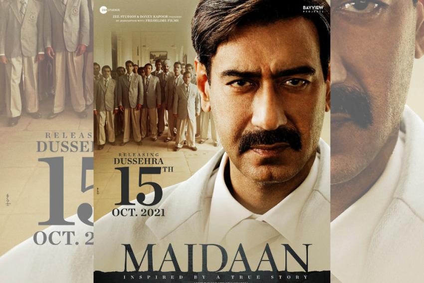 Ajay Devgn's 'Maidaan' Set To Hit Theatres In October