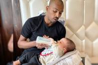 Hardik Pandya Switches Role: From National Duty To Father's Duty