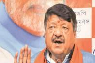 BJP Minder Kailash Vijayvargiya Pushes For Central Forces in Bengal