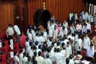 High Drama In Karnataka Council, Dy Chairman S L Dharme Gowda Manhandled