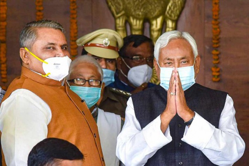 Haven't Received Any Proposal From BJP Regarding Cabinet Expansion: Bihar CM