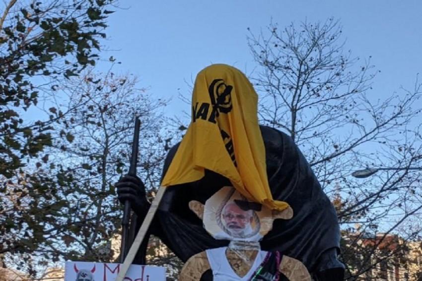Desecration Of Mahatma Gandhi's Statue Appalling: White House Press Secretary