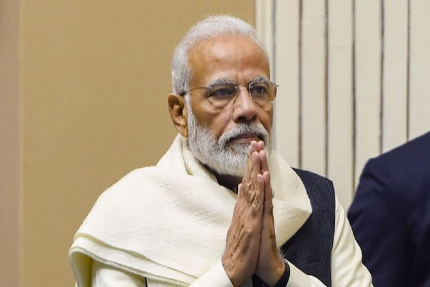 PM Modi Lights 'Swarnim Vijay Mashaal' On 50th Anniversary Of 1971 Indo-Pak War