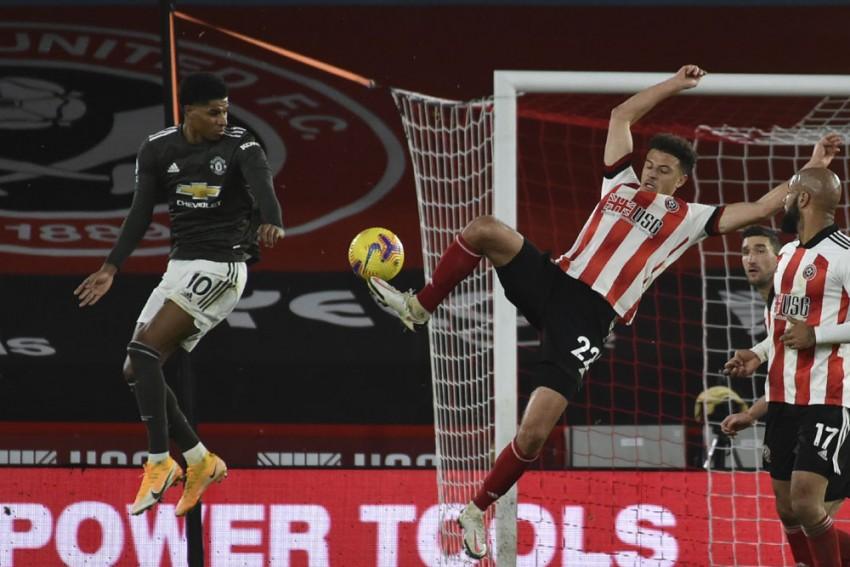 Sheffield United 2-3 Manchester United: Marcus Rashford Double Spares Dean Henderson's Blushes