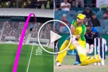 AUS Vs IND, 3rd ODI: Amid Calls To Ban Switch-hit, Glenn Maxwell Smokes Unbelievable 100-m Reverse Six - WATCH
