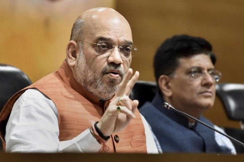 Shah, Tomar, Goyal Hold Deliberations Before Holding Talks With Protesting Farmers