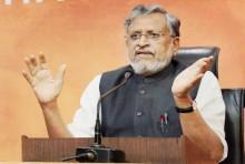 Sushil Modi Files Nominations For Bihar Rajya Sabha By-Poll