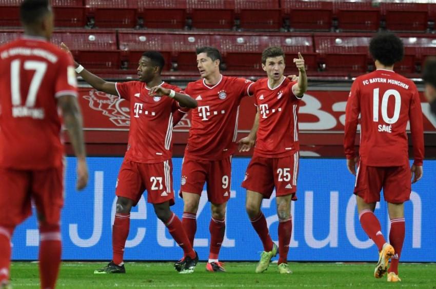 Bayer Leverkusen 1-2 Bayern Munich: Robert Lewandowski Puts Champions Top