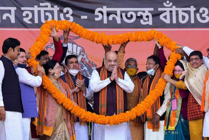 Students At Visva-Bharati University Allege House Arrest Ahead Of Amit Shah Visit