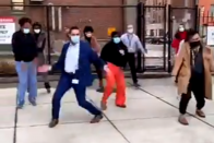 Watch: Healthcare Workers Celebrate The Arrival Of Covid Vaccine By Dancing In Viral Video