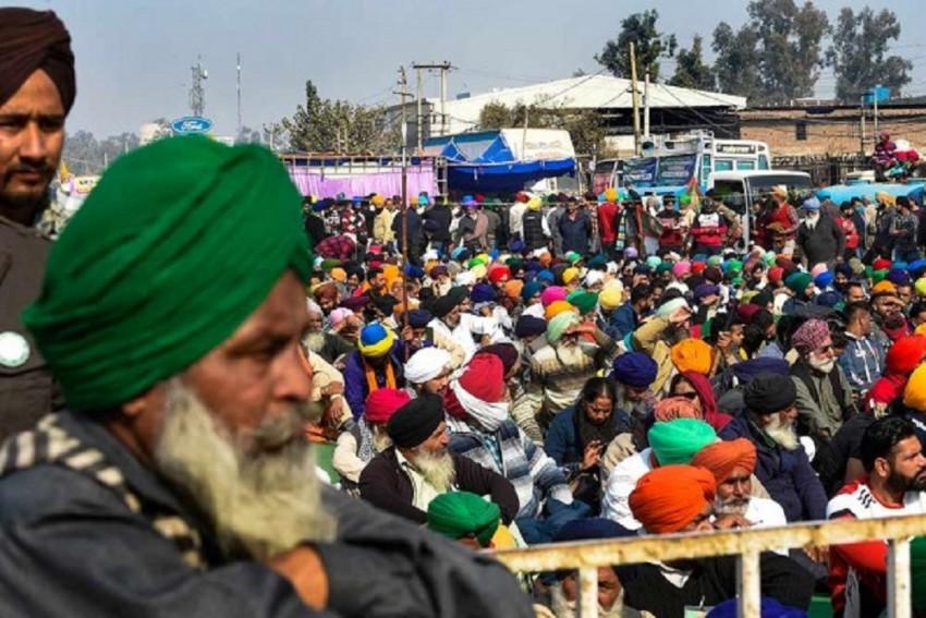 Punjab Farmer Attempts Suicide Near Singhu Border