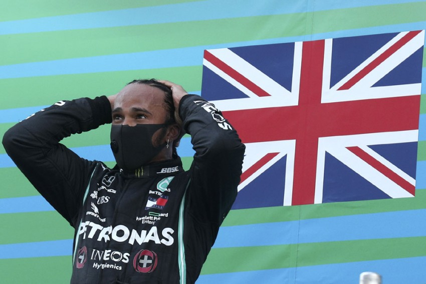 7-time F1 Champion Lewis Hamilton Wins BBC's Top Sports Prize