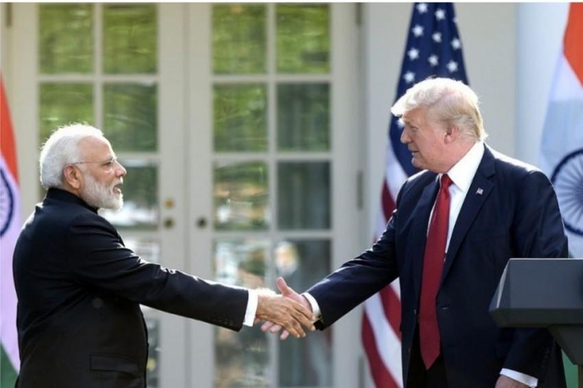 Trump Presents 'Legion Of Merit' To PM Modi For His Role In US-India Strategic Partnership