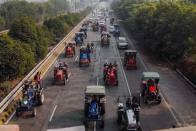 Haryana Police Registers Case Against 13 Farmers For 'Blocking' CM Khattar's Convoy