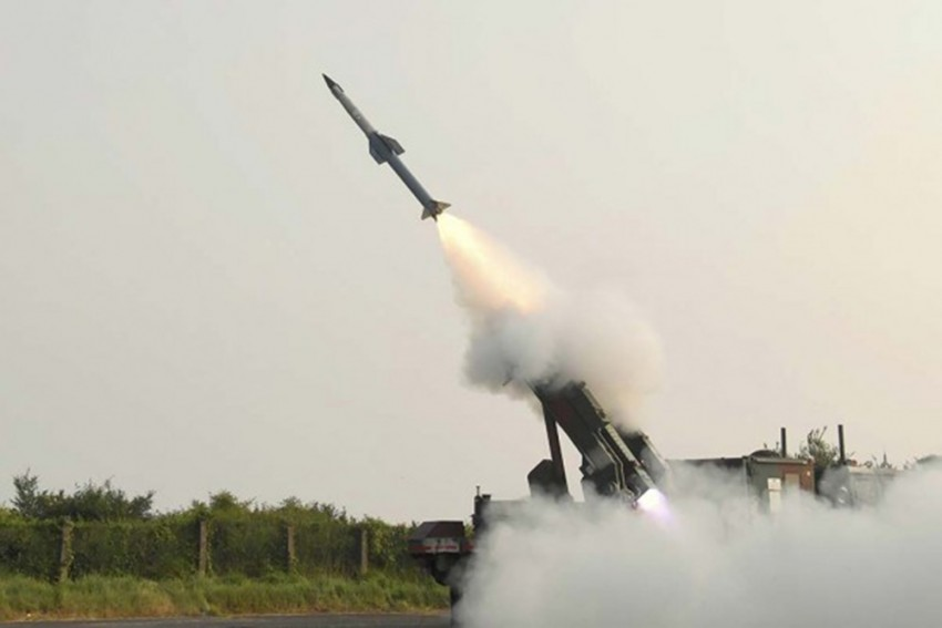 India Successfully Test-Fires Surface-To-Air Missile, Target Hit With 'Accuracy'