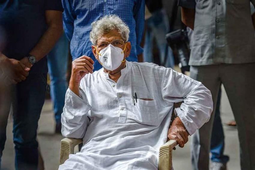 No Confidence In Modi's Assurance Of Resolving Farmers' Issue: Sitaram Yechury