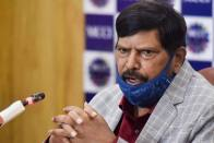 New Covid Strain, New Slogan: For Athawale, 'Go Corona Go' Is Passe, It Is 'No Corona' Now