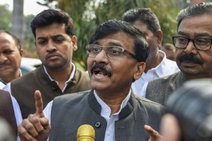 Only Chinese Investment Pushed Back By Govt, Not Chinese Soldiers: Sanjay Raut