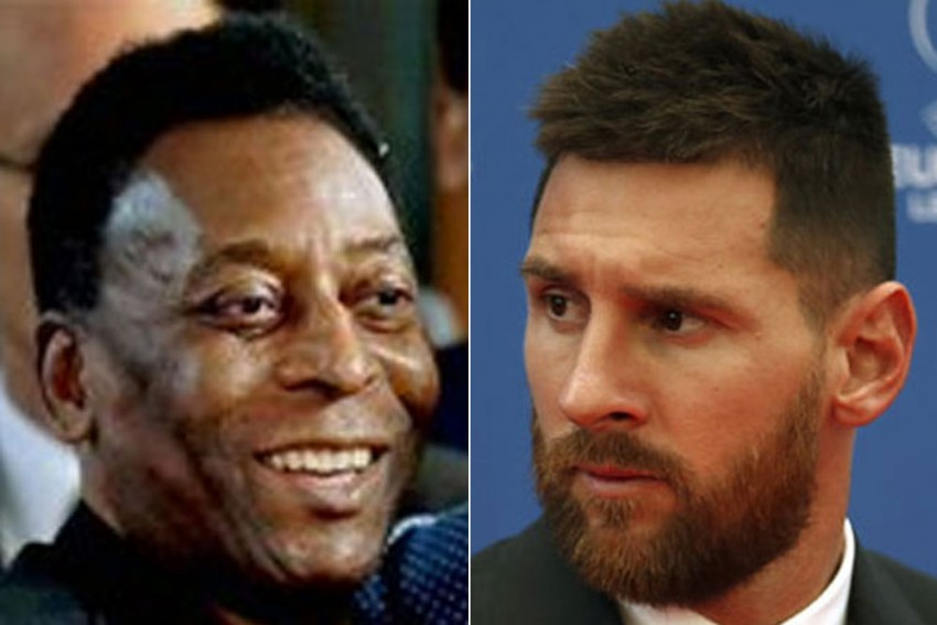 Don't Forget The Friendlies! Santos Defend Pele Goals Haul After Lionel Messi Sets One-club Record