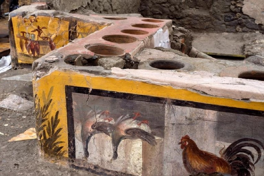 Old But Still Gold: Archaeologists Unearth Street Food Shop In Pompeii Remains