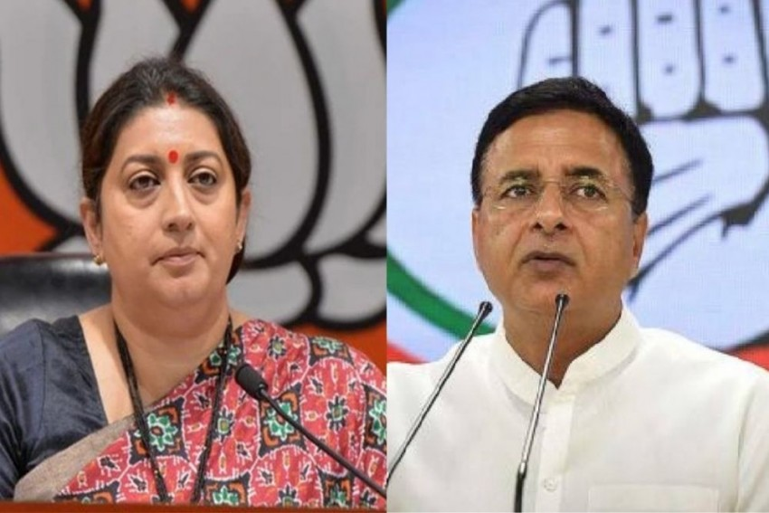 Cong Demands Smriti Irani's Resignation Over Corruption Charges; Asks PM To Intervene