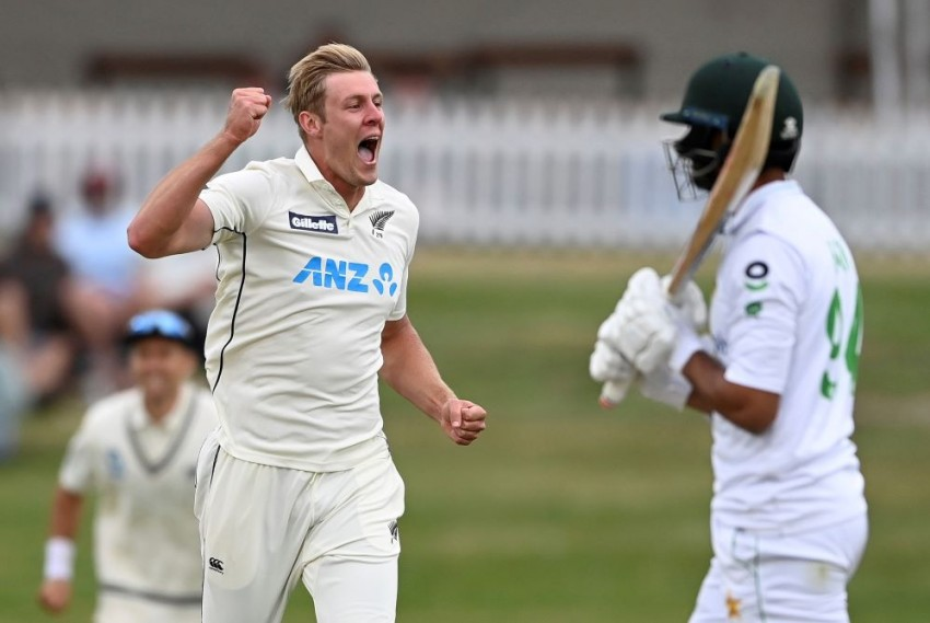 NZ Vs PAK: New Zealand's Kyle Jamieson Guilty Of Breaching ICC Code Of Conduct Against Pakistan