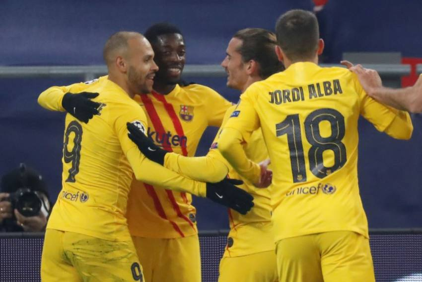 Champions League: Barcelona Win Again In Lionel Messi's Absence