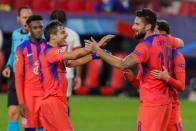 Sevilla 0-4 Chelsea: Olivier Giroud Hits Four As Frank Lampard's Men Top Champions League Group