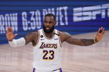 LeBron James Agrees Two-year Extension With NBA Champions LA Lakers