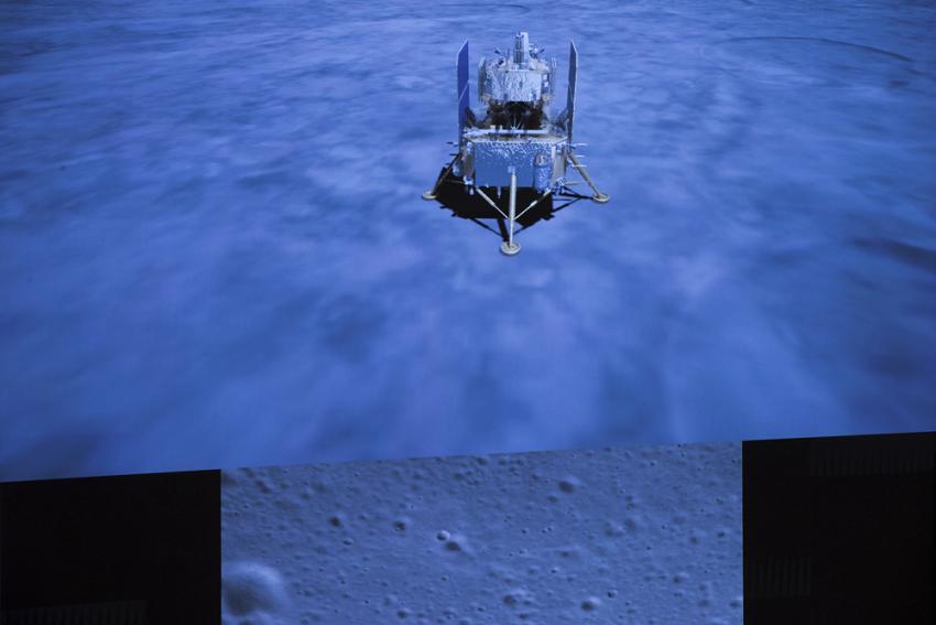 China: Moon Probe Preparing To Return Rock Samples To Earth