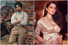 Kangana And Diljit Dosanjh Square Off On Twitter Over Farmers' Protest