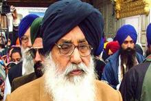 Ex-Punjab CM Parkash Badal Returns Padma Vibhushan In Protest Against Farm Laws