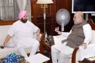 Amarinder Meets Amit Shah To Help End Deadlock Between Centre And Farmers