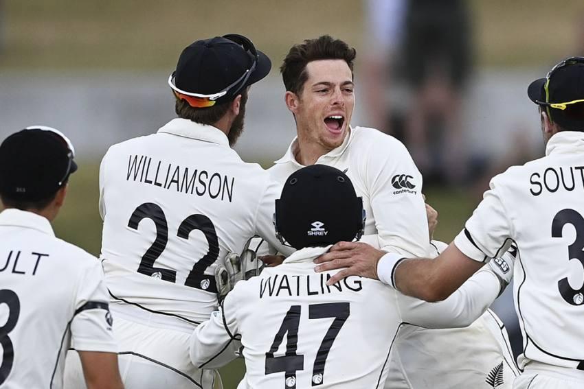 NZ Vs PAK, 1st Test: Mitchell Santner Strikes Late As New Zealand Beat Pakistan In Dramatic Match