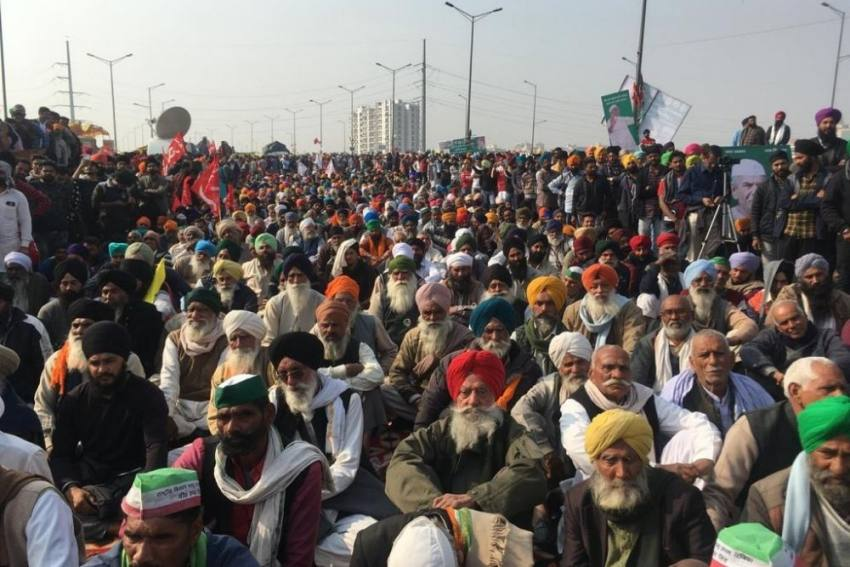 Delhi Borders Remain Closed As Farmers' Protest Continues