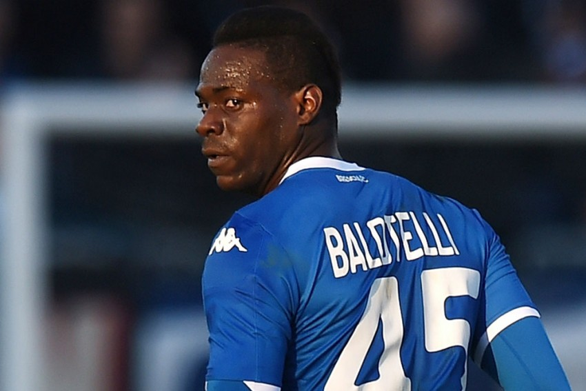 Former Milan And Manchester City Forward Mario Balotelli Scores Four Minutes Into Monza Debut