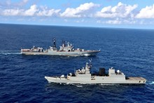 India Kickstarts Naval Drill With Russia In Indian Ocean On Navy Day