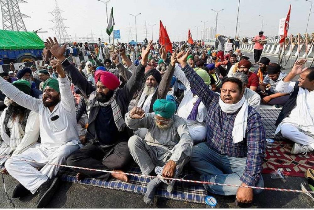 Plea In SC Seeks Removal Of Farmers Protesting At Delhi Borders