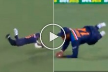 AUS Vs IND, 1st T20I: Hardik Pandya, Sanju Samson Stunners Glorify Sub Yuzvendra Chahal - WATCH