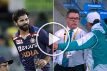 AUS Vs IND, 1st T20I: Angry Justin Langer Argues As Yuzvendra Chahal Replaces 'Concussed' Ravindra Jadeja - VIDEO