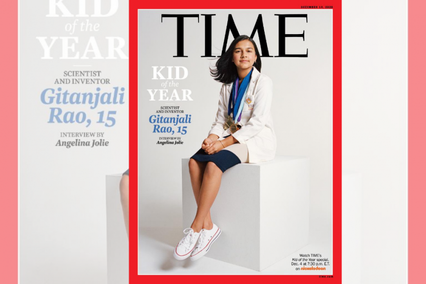 15-Year-Old Indian-American Gitanjali Rao Named TIME 'Kid Of The Year'