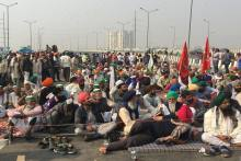 Farmers' Stir: Protesters Continue To Camp At Delhi Borders Amid Heavy Police Deployment