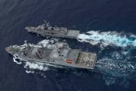 Indian Navy An Outstanding Force: Defence Minister Rajnath Singh